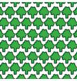 fresh broccoli vegetable pattern background vector image