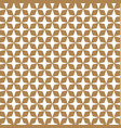 japanese pattern background gold graphic vector image