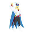 superhero king actions icon in cartoon colored vector image vector image