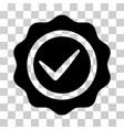 valid seal icon vector image vector image
