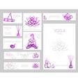 Yoga Flyer Design vector image vector image