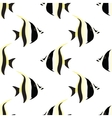 fish seamless isolated vector image vector image