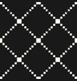 geometric ornament pattern with squares vector image