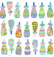 nature fantasy pineappless seamless pattern it is vector image