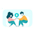 people holding dollar sign hand drawn vector image