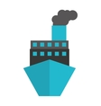 ship boat delivery service icon vector image