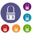 shoulder bag icons set vector image vector image