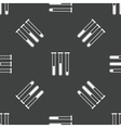 Test-tubes pattern vector image vector image