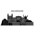 india bangalore architecture urban skyline with