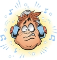Loud Headphones vector image vector image