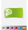 realistic design element chinese dragon vector image