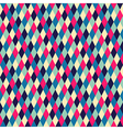 rhombic seamless pattern vector image