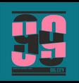 t-shirt print design vintage t shirt stamp vector image