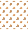 Winter ugg boots pattern cartoon style vector image vector image