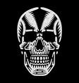 bizarre dead head vector image