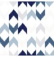 chevron ikat seamless pattern vector image vector image