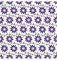 FlowersPatternBackground02 vector image vector image