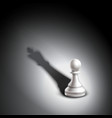 Pawn Casting King vector image vector image
