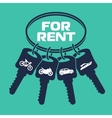 Rental car banners vector image vector image