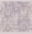 vintage damask ornament background stylish vector image vector image