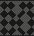 geometric seamless pattern with small squares vector image vector image