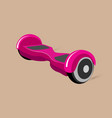 hoverboard segway vector image