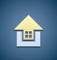 Icon Real Estate vector image vector image