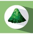 mountainous terrain design vector image
