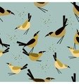 seamless pattern Bird vector image vector image