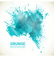 abstract background turquoise grunge design vector image vector image