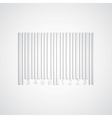 Background with paper barcode vector image