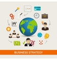 Business Strategy Concept vector image vector image