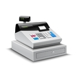 Cash Register Isolated vector image vector image