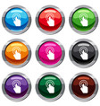click set 9 collection vector image vector image