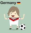 germany national football team businessman happy vector image vector image