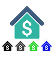 house rent flat icon vector image