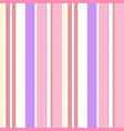 pink purple striped seamless fabric texture vector image vector image