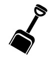 toy spade icon simple style vector image