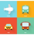 Transport Icon Flat vector image vector image