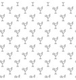 unique digital cocktails seamless pattern with vector image vector image