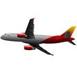 al 0626 plane 01 vector image vector image