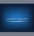 blue background stylish design vector image vector image