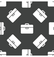 Briefcase pattern vector image vector image