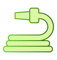 garden hose flat icon water hose green icons in vector image