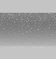 snow transparent snow background vector image