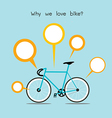We love bike vector | Price: 1 Credit (USD $1)