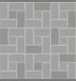 3d brick stone pavement pattern texture vector image vector image