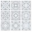 al 1007 tiles vector image vector image