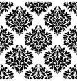 Arabesque seamless pattern with floral motifs vector image vector image
