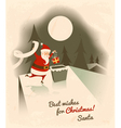 best wishes for christmas vector image